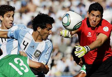 Carlos Arias defendió el arco boliviano en el empate (1-1) en 2011. Foto: Internet