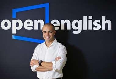 Andrés Moreno, fundador de Open English