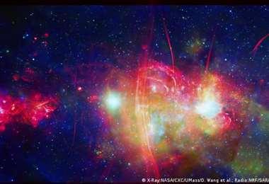 Las señales están situadas a 25.800 años luz de la Tierra