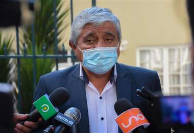 El alcalde de La Paz, Iván Arias I AMN.