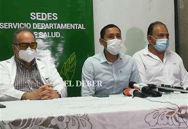 Posesionan a Freddy Gutiérrez como director del hospital Japonés. Foto: JC. Torrejón