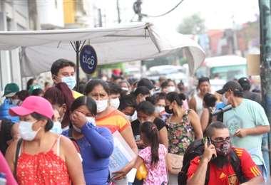 Surgen los primeros problemas por el pago del bono escolar. Foto: j. Ibáñez