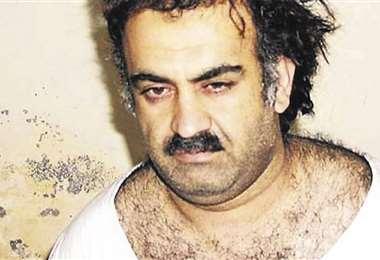 Foto: Jalid Sheij Mohamed está preso en la base naval de Guantánamo