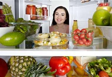 Variedad de alimentos con micronutrientes