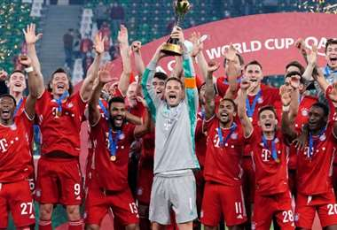 El Bayern de Múnich es el actual campeón del Mundial de Clubes. Foto: Internet