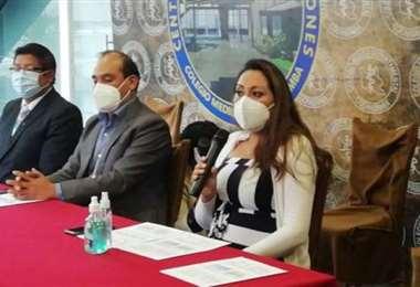 Colegio Médico de Cochabamba propone dosis de refuerzo. Foto LOS TIEMPOS