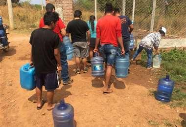 Escasez de agua en San Ignacio/Foto: Carlos Quinquiví