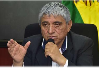 Iván Arias, alcalde de La Paz