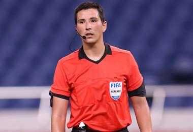 kevin Ortega, joven árbitro peruano. Foto: Internet