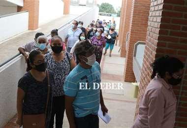 Son más de 30 mil las dosis que se aplicaron este miércoles/Foto Juan Carlos Torrejón