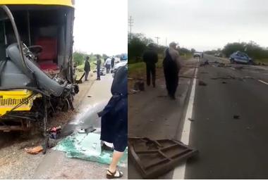 Trágico accidente en la ruta a Camiri