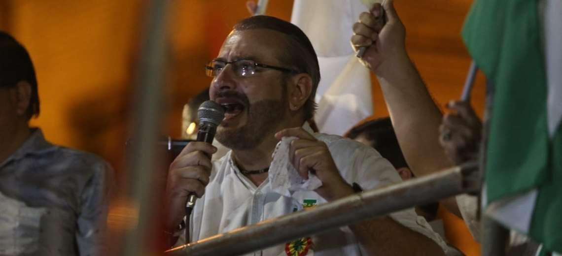 Tras la marcha por la democracia Calvo advierte a Arce con desobediencia  civil   EL DEBER